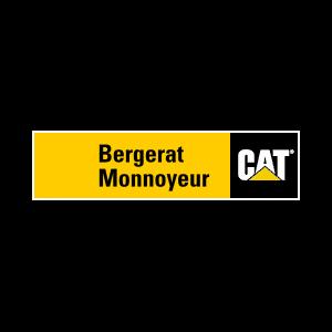 Koparko-ładowarka CAT - Bergerat Monnoyeur